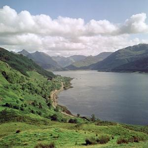 Loch Duick and the Five Sisters of Kintail by CM Dixon