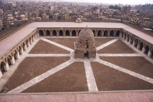 Mosque of Ibn Tulun, Built AD 876-879, Cairo, c20th century by CM Dixon