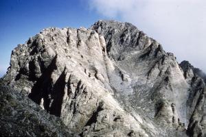Mt Olympus, Greece, main summit (9570 feet, 2914 metres), Stephani, Throne of Zeus, c20th century by CM Dixon