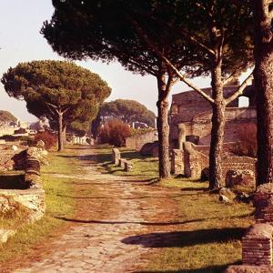 Ostia Antica, Port of Rome, Italy, c2nd-3rd century, (c20th century) by CM Dixon