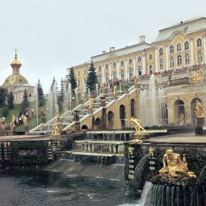 Petrodovorets Palace Near St Petersburg, 19th Century by CM Dixon