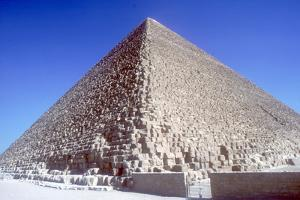 Pyramid of Khufu (Cheops), Giza, Egyptian, 4th Dynasty, 26th Century Bc by CM Dixon