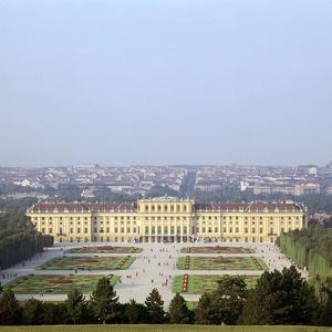 Schonbrunn Palace in Vienna, 17th Century by CM Dixon