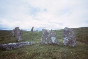 Scorhill Stone Circle, Dartmoor, Devon, 20th century by CM Dixon