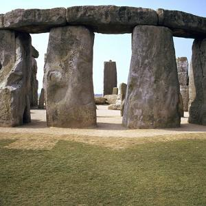 Stonehenge from the West, 25th Century Bc by CM Dixon