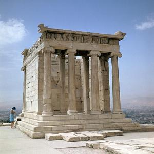 Temple of Athene Nike on the Acropolis, 5th Century Bc by CM Dixon