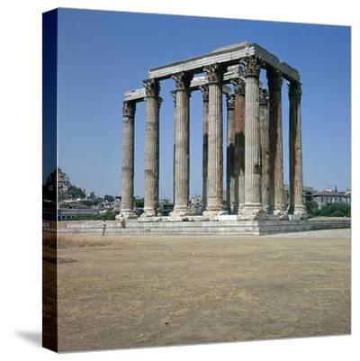 Temple of Olympian Zeus in Athens, 2nd Century Bc