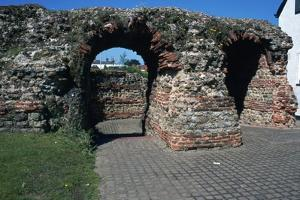 The Balkearne Gate in Colchester, 1st Century by CM Dixon