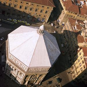The Baptistry in Florence, 12th Century by CM Dixon