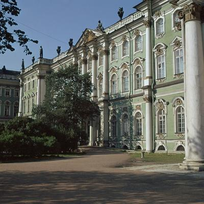 The Hermitage in St Petersburg, 18th Century