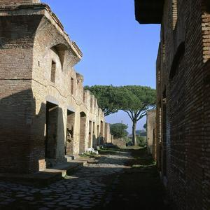 The House of Diana in the Roman Port of Ostia, 2nd Century by CM Dixon