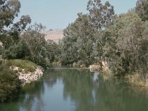 The river Jordan by CM Dixon