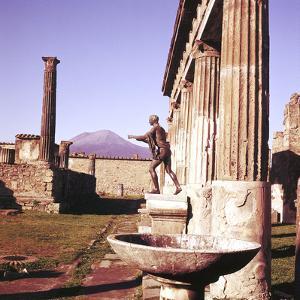The Temple of Apollo, Pompeii, Italy by CM Dixon