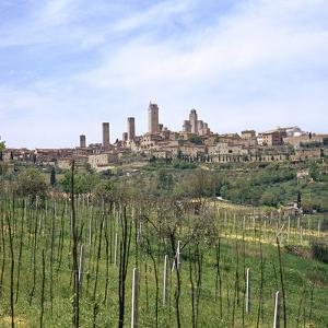 The Town of San Gimignano, 13th Century by CM Dixon