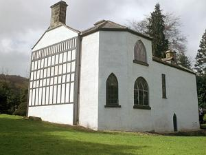 Timber-Framed Black and White House, 18th Century by CM Dixon