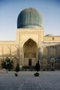 Timur's Tomb, (Tamberlaine), Gur-e-Amir Mausoleum, Samarkand, c20th century by CM Dixon