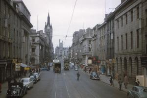 Union Street, Aberdeen, Scotland, c1960s by CM Dixon