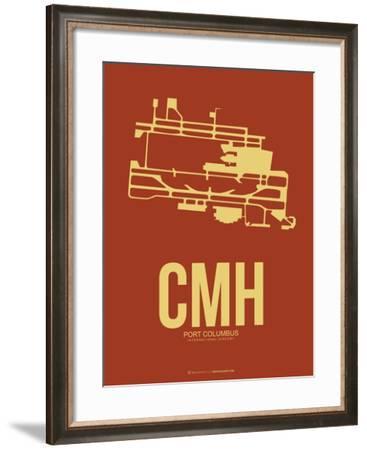 CMH Port Columbus Poster 1-NaxArt-Framed Art Print