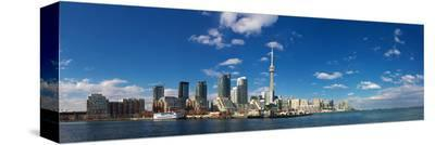 CN Tower Downtown Toronto--Stretched Canvas Print