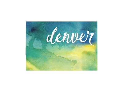 CO Denver--Art Print