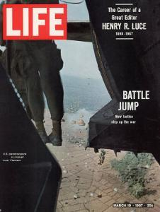 American Paratroopers, 2nd Batt. 503rd Inf. Reg 173rd Airborne Brigade, Vietnam War, March 10, 1967 by Co Rentmeester