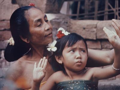 Balinese Mother and Child