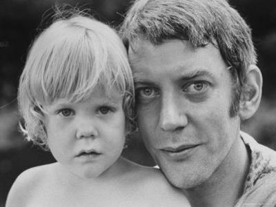 Donald Sutherland with Son Kiefer