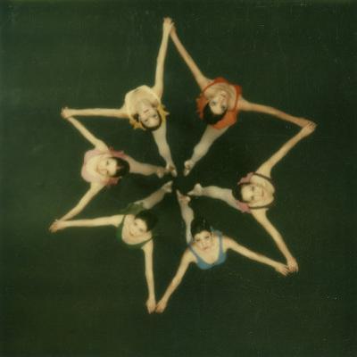 Polaroid, Overhead View of Ballerinas