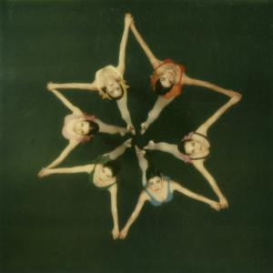 Polaroid, Overhead View of Ballerinas by Co Rentmeester