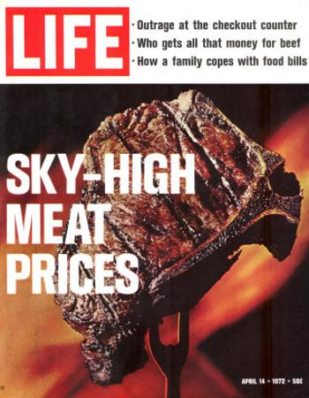 Sky-High Meat Prices, April 14, 1972