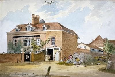 Coade Stone Factory, Narrow Wall, Lambeth, London, C1800--Giclee Print