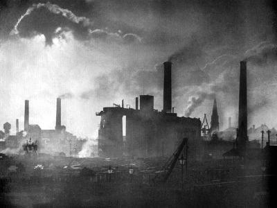 Coal and Iron Production, 1926-Edgar & Winifred Ward-Giclee Print