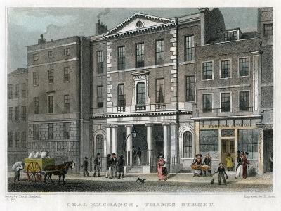 Coal Exchange, Thames Street, City of London, 1830-R Acon-Giclee Print
