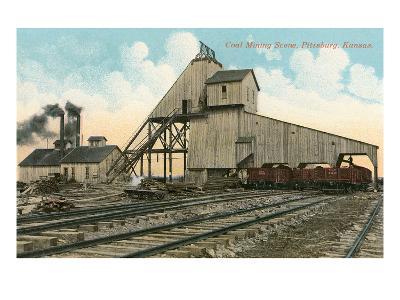 Coal Loadinig Facility, Pittsburg, Kansas--Art Print