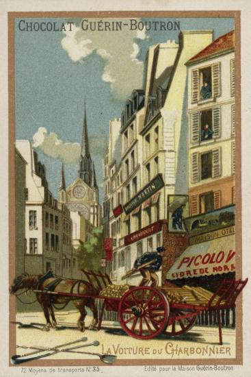 Coal Merchant's Wagon--Giclee Print
