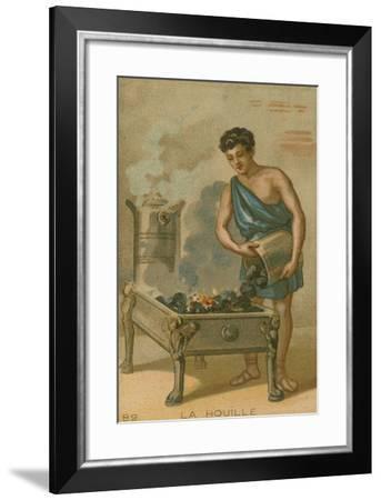 Coal--Framed Giclee Print