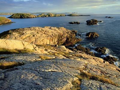 Coast at Sheigra in Evening Light, Scotland-Iain Sarjeant-Photographic Print