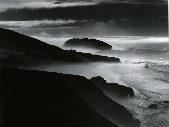 Coast, Big Sur, California, 1981-Brett Weston-Photographic Print