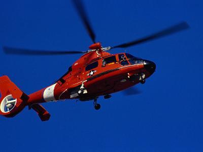 Coast Guard Helicopter-Stocktrek Images-Photographic Print