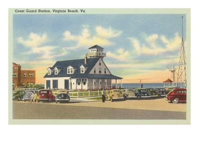 Coast Guard Station, Virginia Beach, Virginia--Art Print