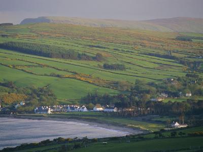 Coast, Hills and Cushendun, County Antrim, Ulster, Northern Ireland, UK, Europe-Gavin Hellier-Photographic Print