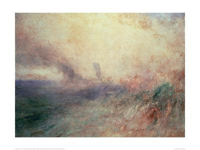 Coast Near Folkestone, 1845-J^ M^ W^ Turner-Giclee Print