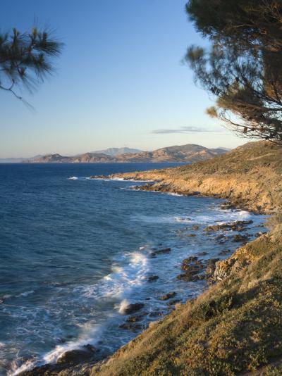Coast Near L'Lle Rousse, Corsica, France, Mediterranean, Europe-Mark Banks-Photographic Print