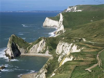 Coast Near Lulworth, Dorset, England, United Kingdom-Rob Cousins-Photographic Print