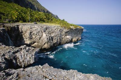 Coast of Samana Peninsula near Puerto El Fronton-Massimo Borchi-Photographic Print