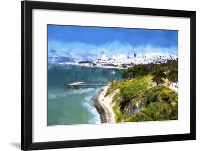 Coast of San Francisco-Philippe Hugonnard-Framed Giclee Print