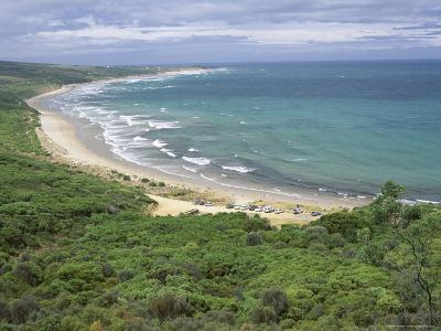 Coast of the Angahook-Lorne State Park, West of Anglesea, on Great Ocean Road, Victoria, Australia-Robert Francis-Photographic Print