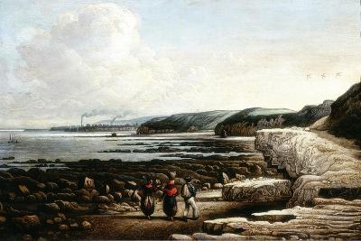 Coast Scene, Cullercoats-John Wilson Ewbank-Giclee Print