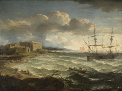 Coast Scene - the Debarkation-Jacob Appel-Giclee Print