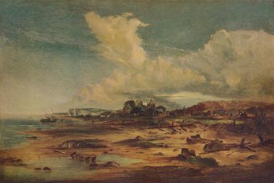 Coast Scene with Church, c1824-John Constable-Giclee Print